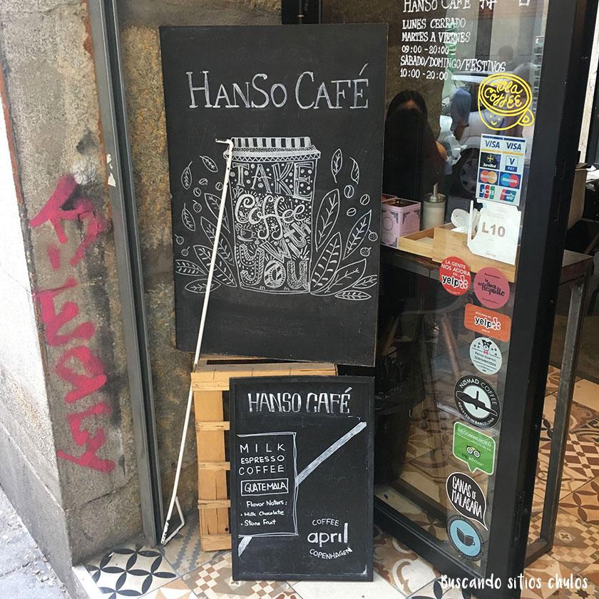 HanSo Café en Madrid