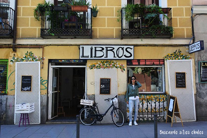 Librería en Malasaña
