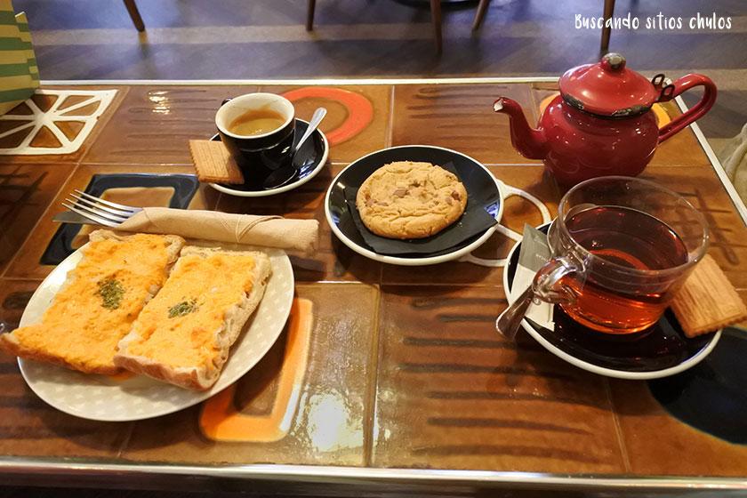 Desayuno en Lolina Vintage