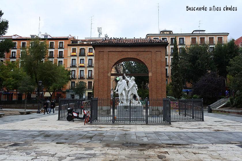 Plaza dos de Mayo en Malasaña