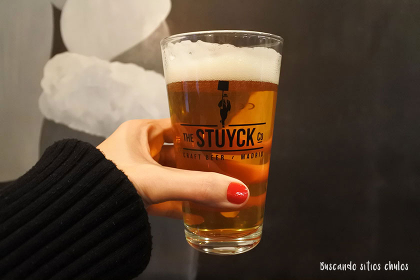 Cerveza en The Stuyck Co