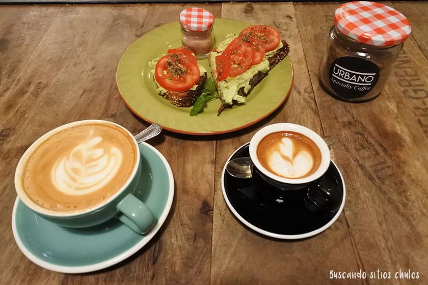 Urbano Specialty Coffee en Madrid