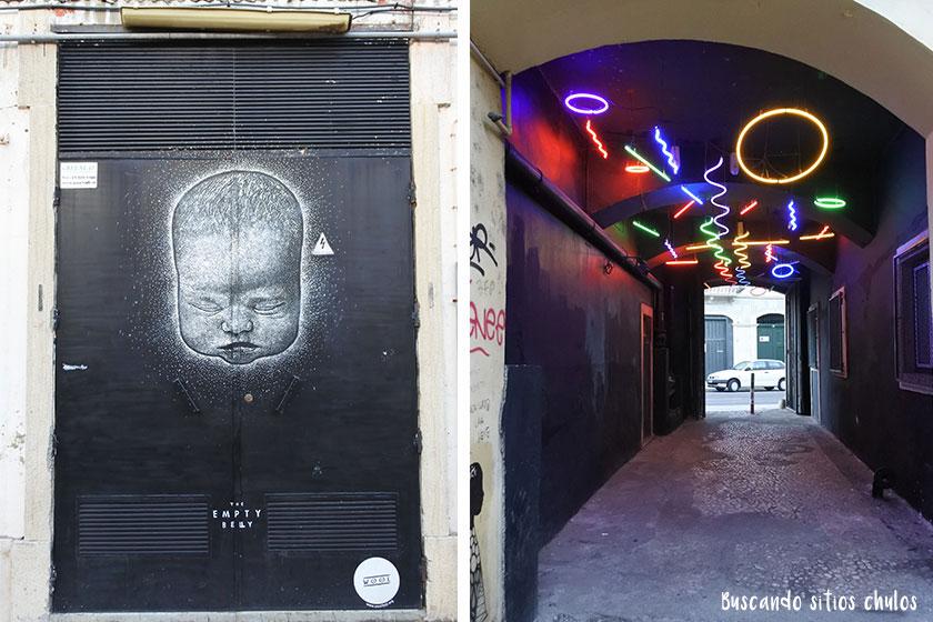 Arte urbano en LX Factory