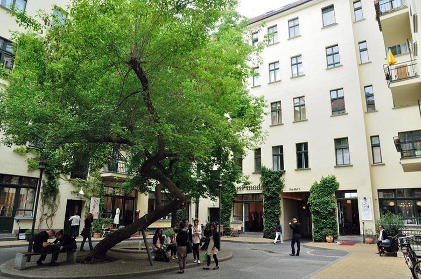 Recorrido de patios y arte por el Barrio Judío en Berlín