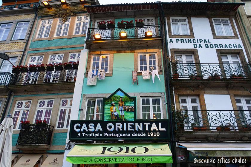 Casa Oriental en Oporto