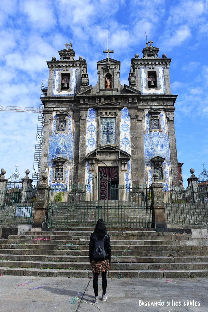 Iglesia de San Ildefonso en Oporto