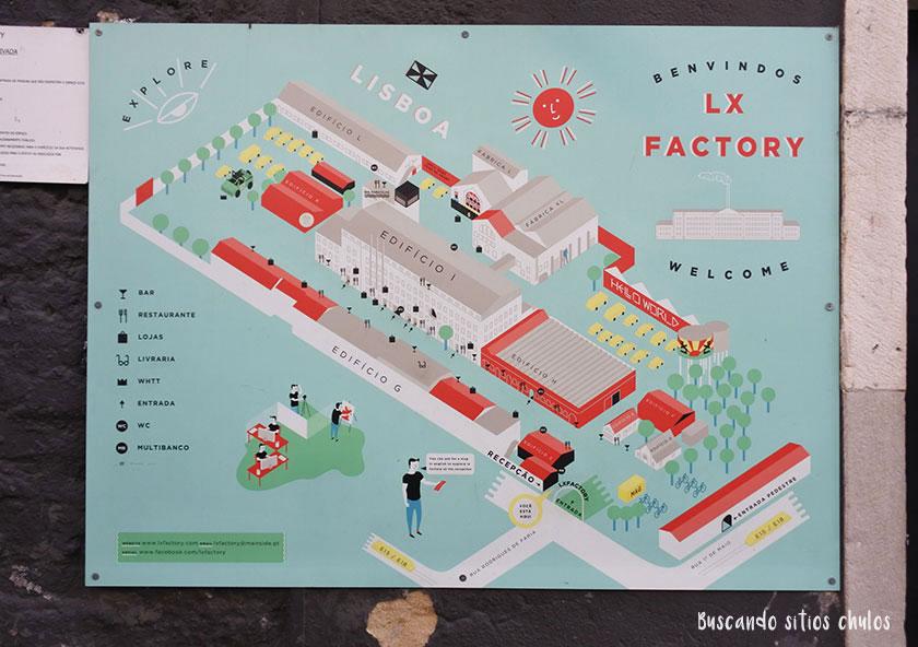 Plano de LX Factory