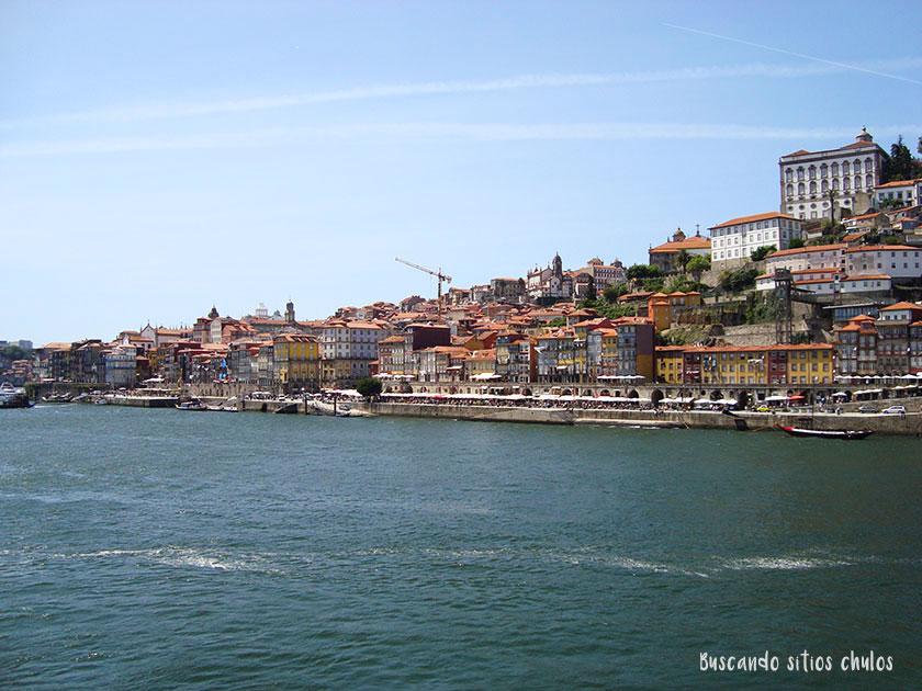 Vistas de Oporto desde Vila Nova de Gaia