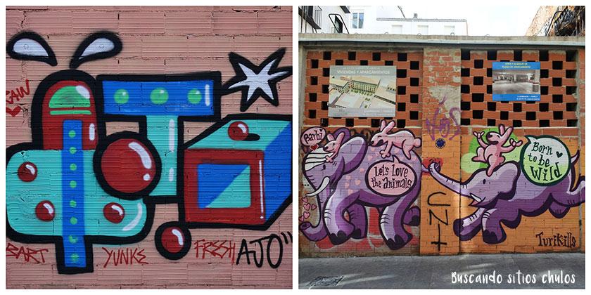 Ruta de arte urbano por Valencia
