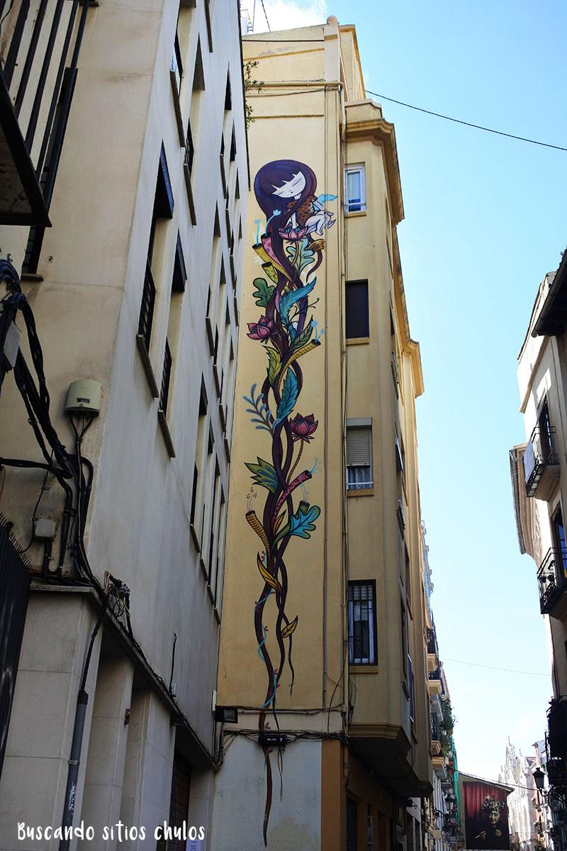Arte Urbano en los edificios de Valencia