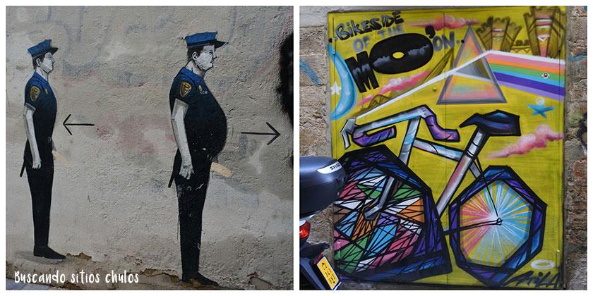 Ruta de arte urbano en Valencia