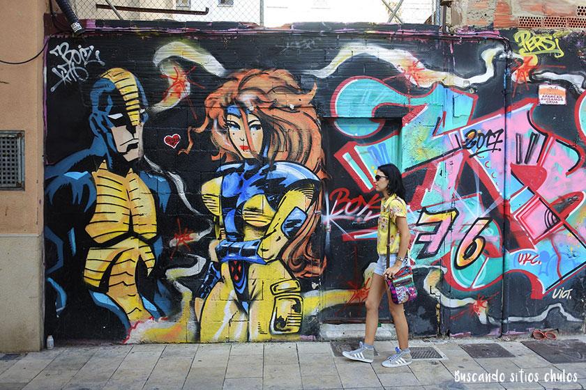 Arte Urbano en Valencia