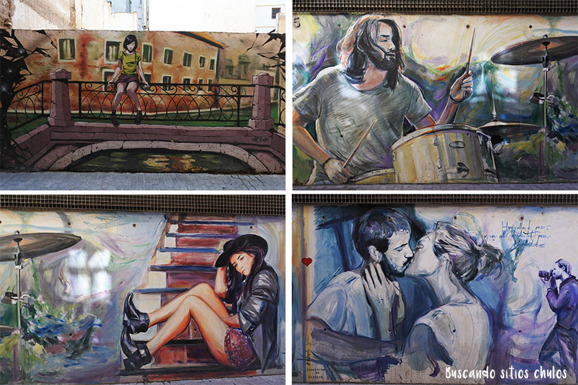 Calle de los Colores en Valencia