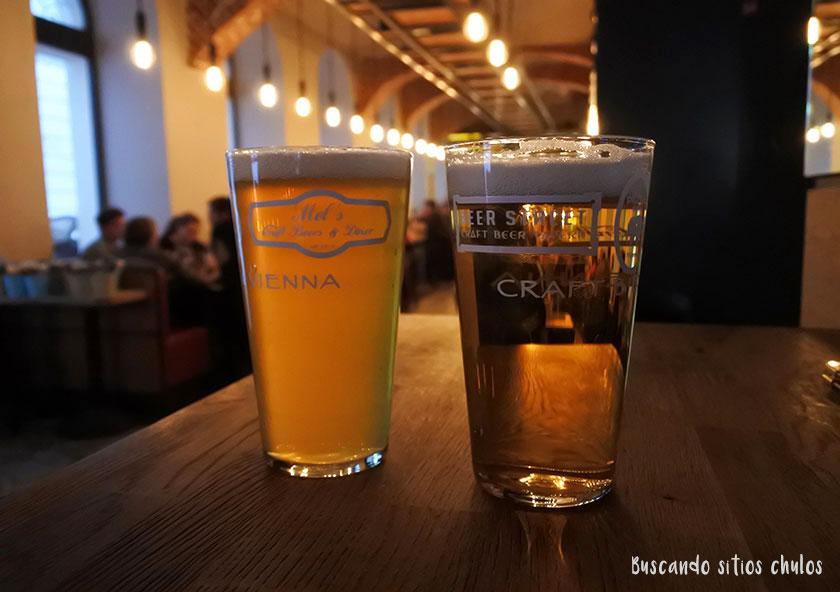 Cerveza artesana en Viena