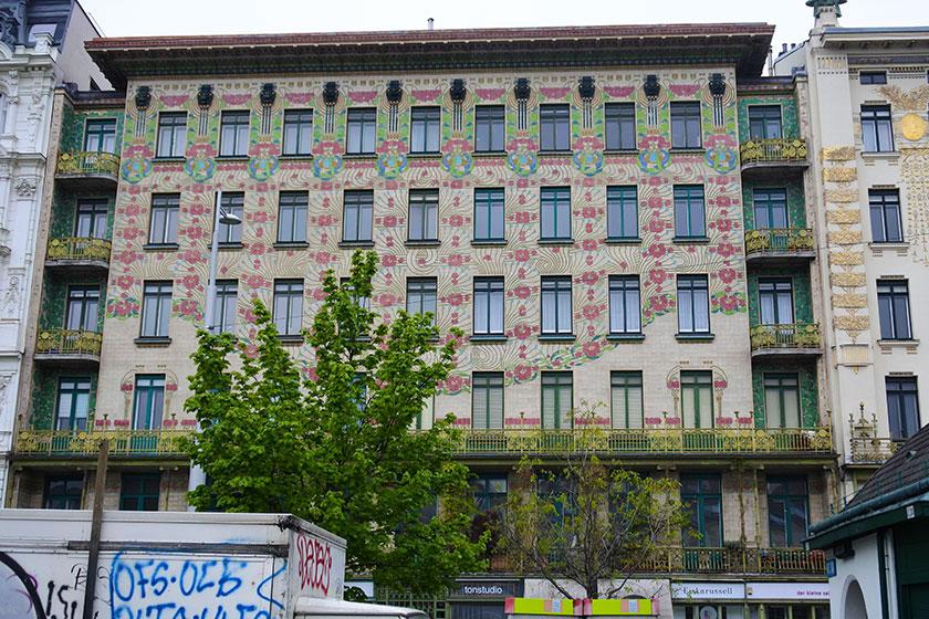 Edificios chulos en Viena