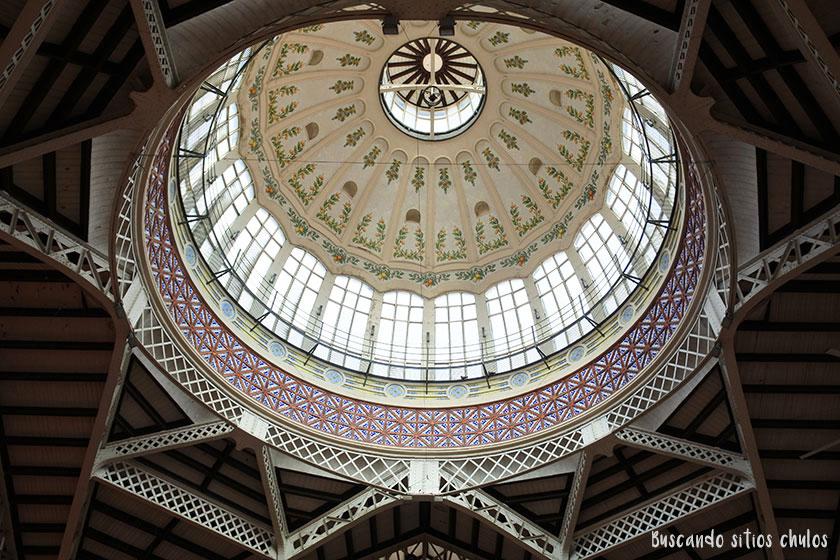 Cúpula del Mercado Central de Valencia