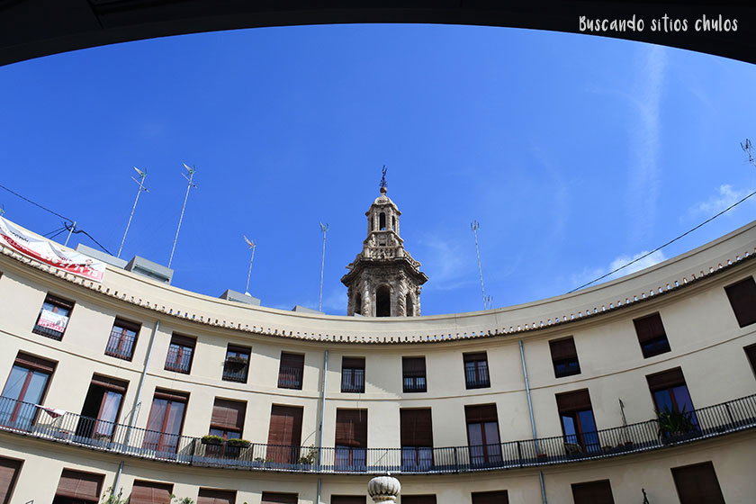 Plaza Redonda en Valencia
