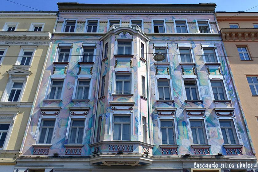 Edificios bonitos en Viena