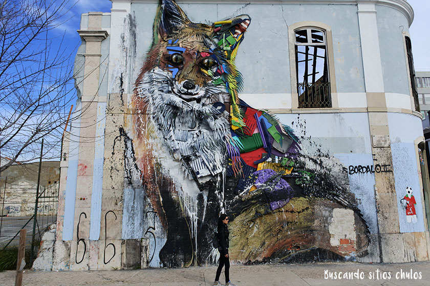 Street art Bordalo II