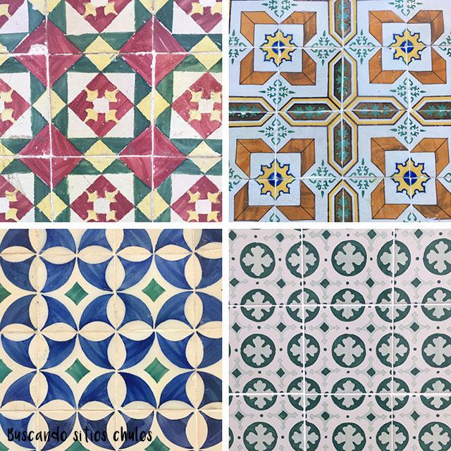 Azulejos en Lisboa