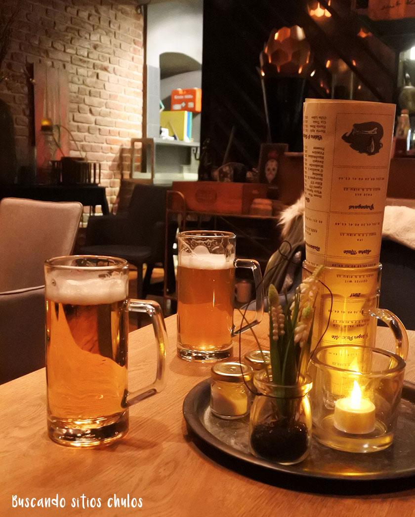 Cerveza artesana en Craftmühle