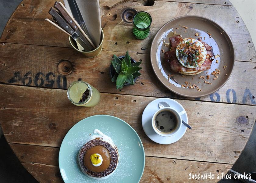 Desayuno en Fauna & Flora