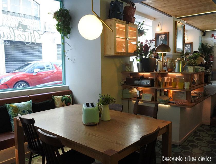 Interior de Nicolau Café en Lisboa