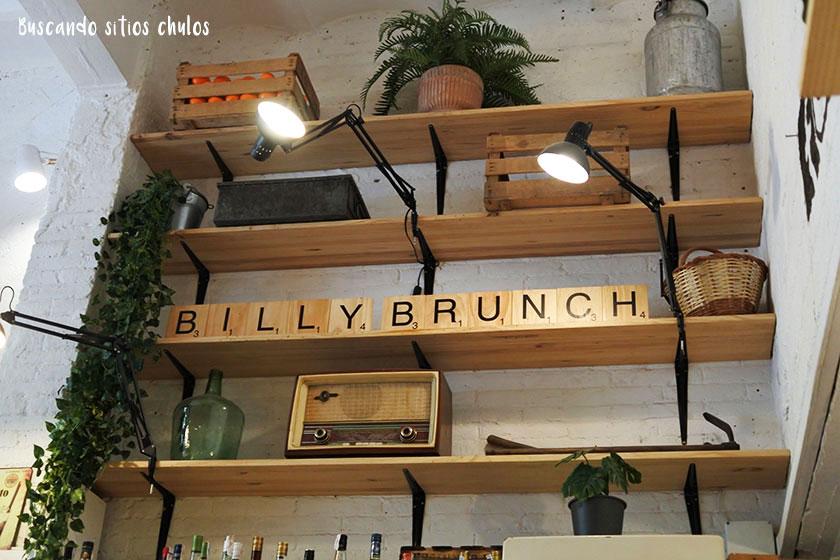 Billy Brunch en Barcelona