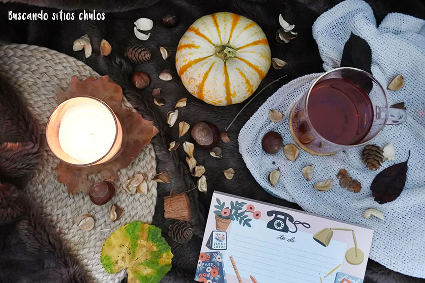 Un otoño acogedor