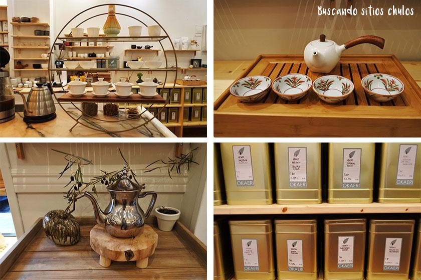 Okaeri un sitio chulo para tomar un té en Gijón
