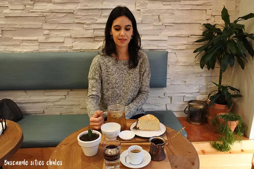 Okaeri, sitio chulo para tomar té en Gijón