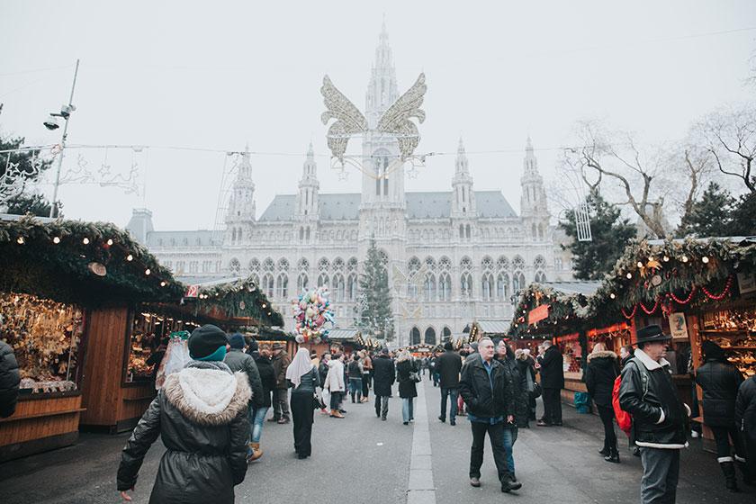 Mercados de Navidad en Viena