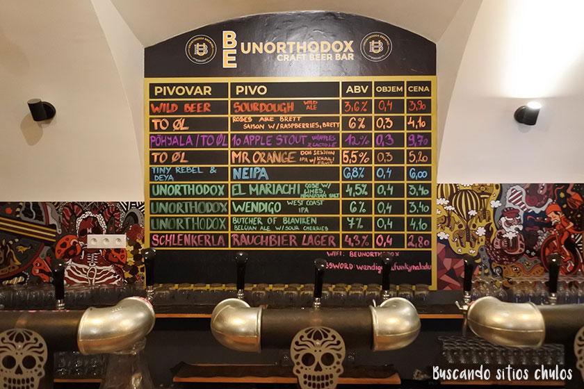Be Unorthodox Craft Beer Bar en Bratislava