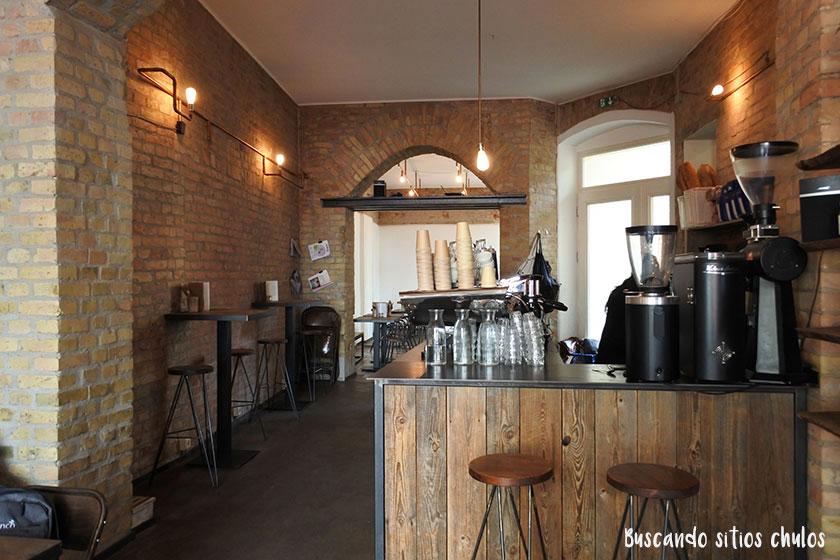 Distrikt Coffee en Berlín