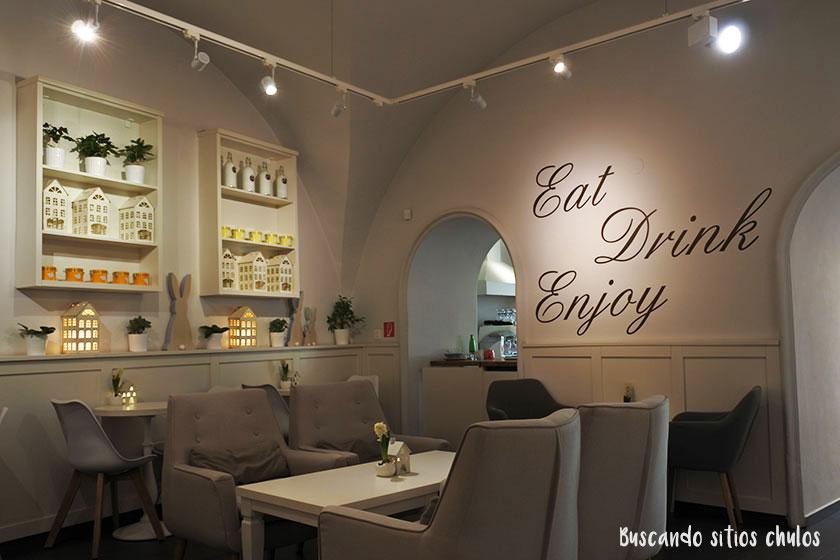 Desayunar en Bratislava: Enjoy Bistro
