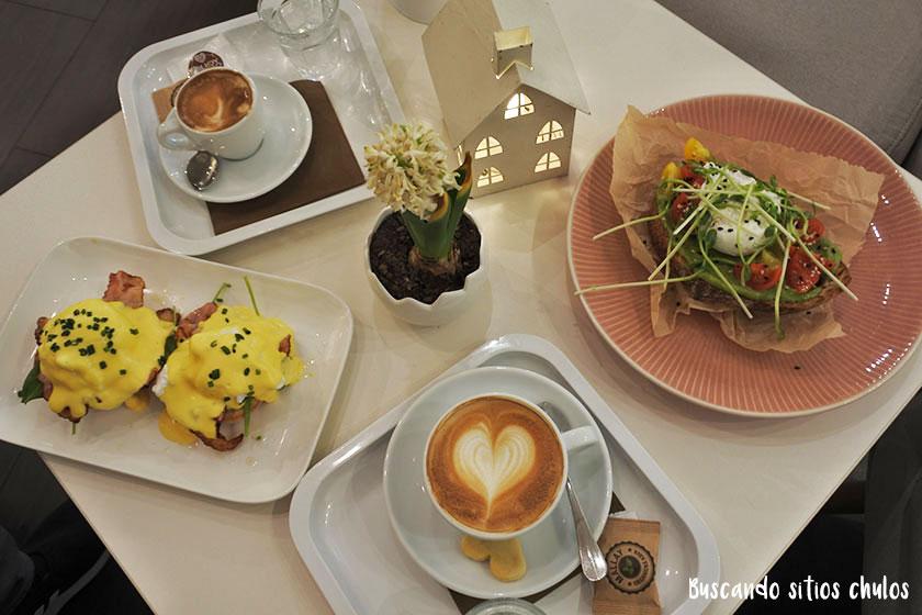 Desayuno en Enjoy Bistró Bratislava