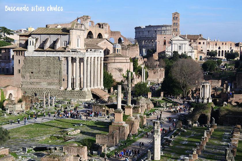 Visitar el Foro Romano