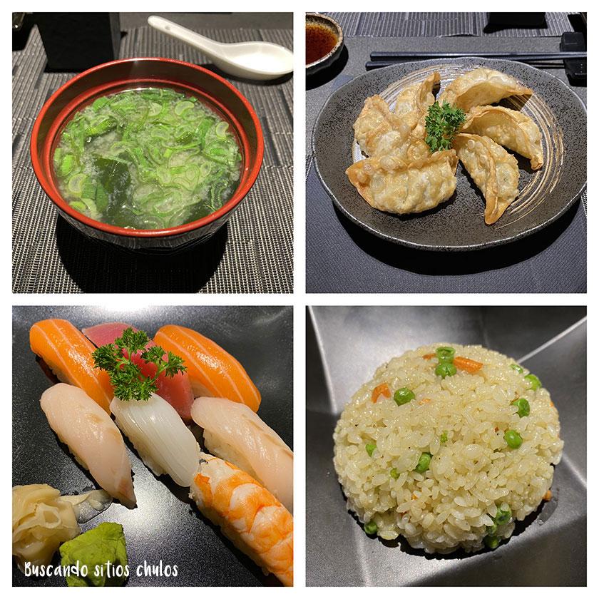 Kisaki restaurante japonés en Roma