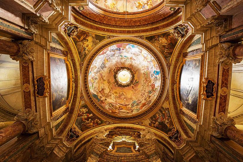 Iglesia San Ignacio de Loyola Roma