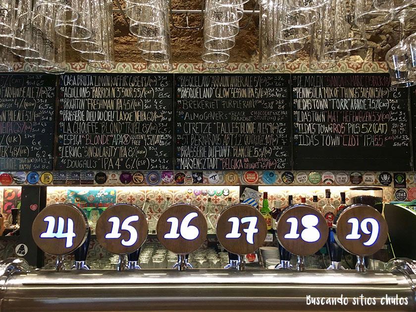 Sitios chulos para tomar cerveza artesana en Barcelona
