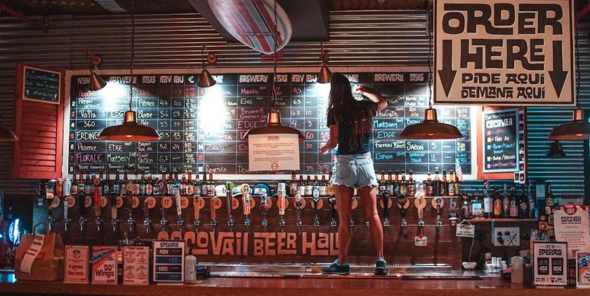 CocoVail Beer Hall en Barcelona