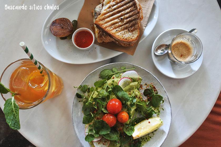 Desayunar en cafeterías chulas