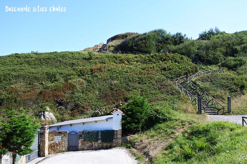 Ruta por la costa oriental de Gijón