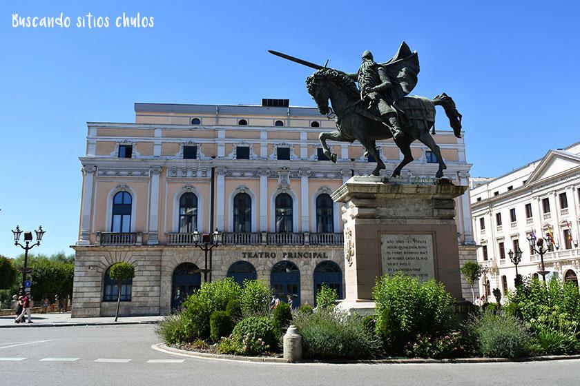 Estatua Cid Campeador