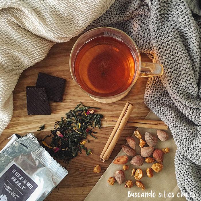 Aromas de té
