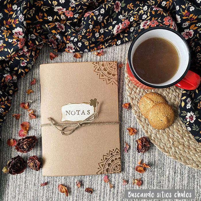 Té y libreta