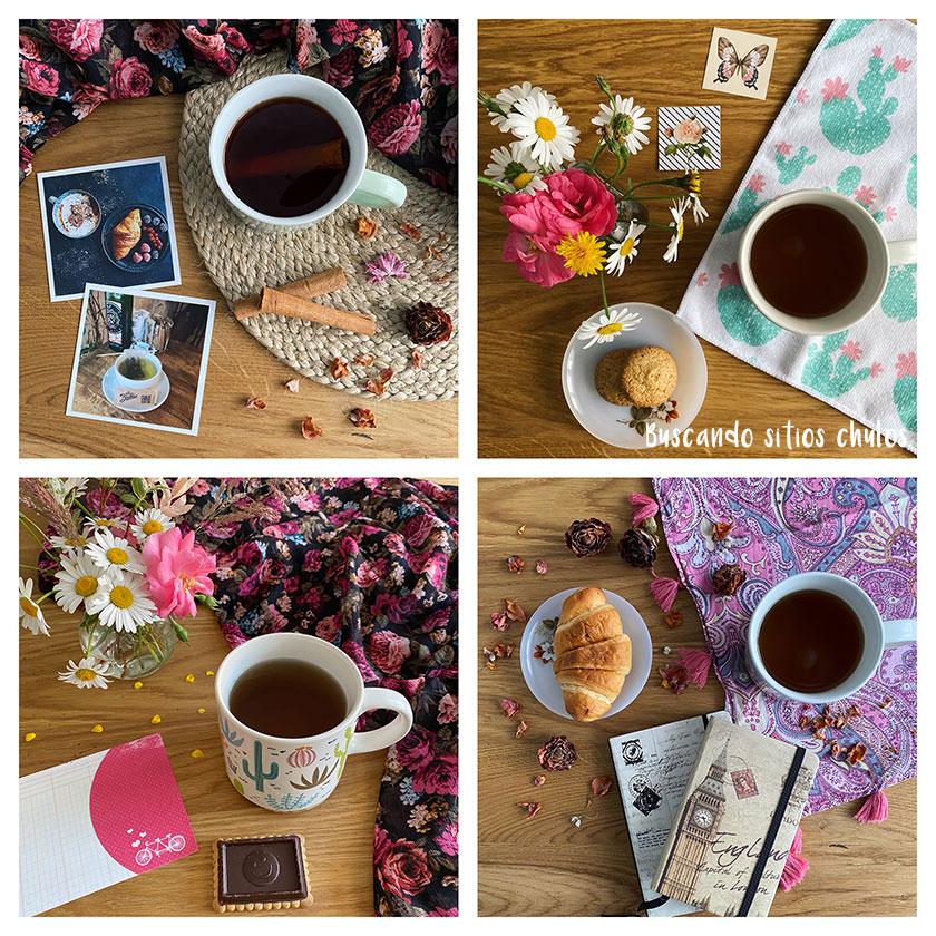 Mi momento del té en primavera