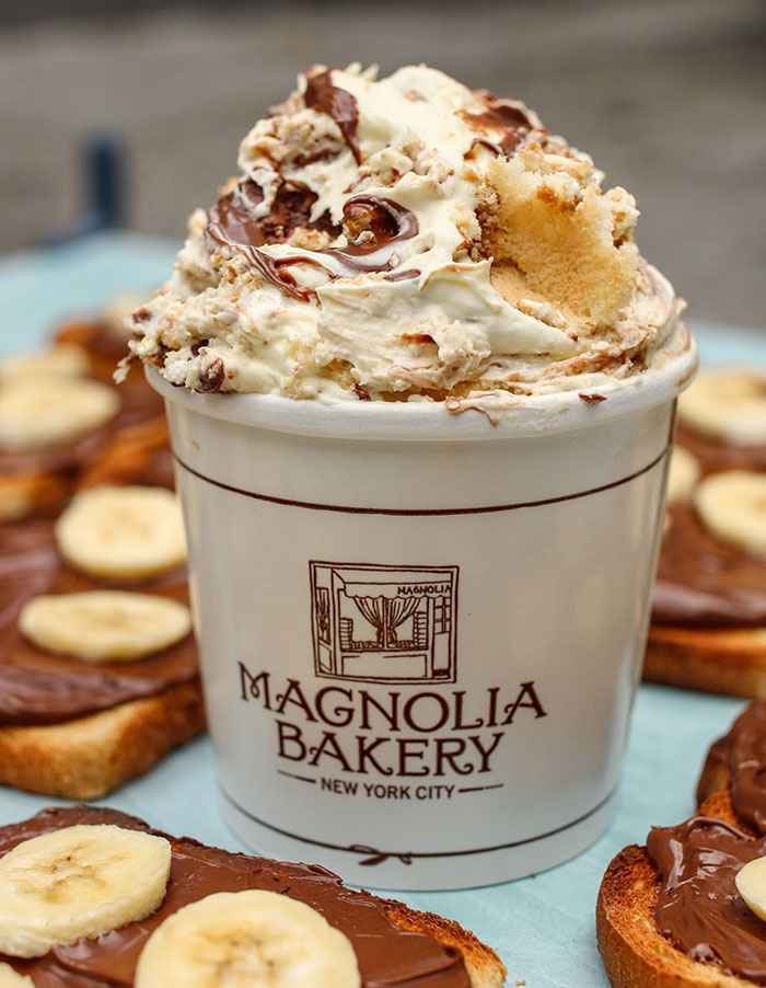 Banana Pudding en Magnolia Bakery