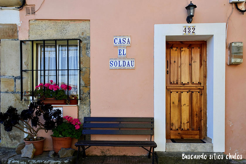 Casas chulas en Lastres