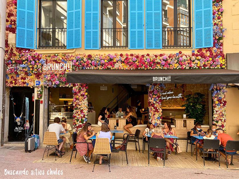 Terraza Brunchit Palma de Mallorca